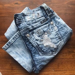 Stonewash MissMe Jeans ✨